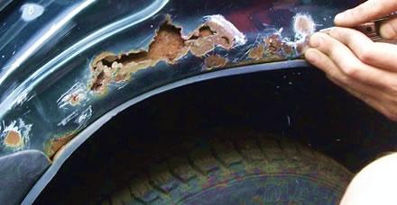 Защита кузова автомобиля от коррозии своими руками