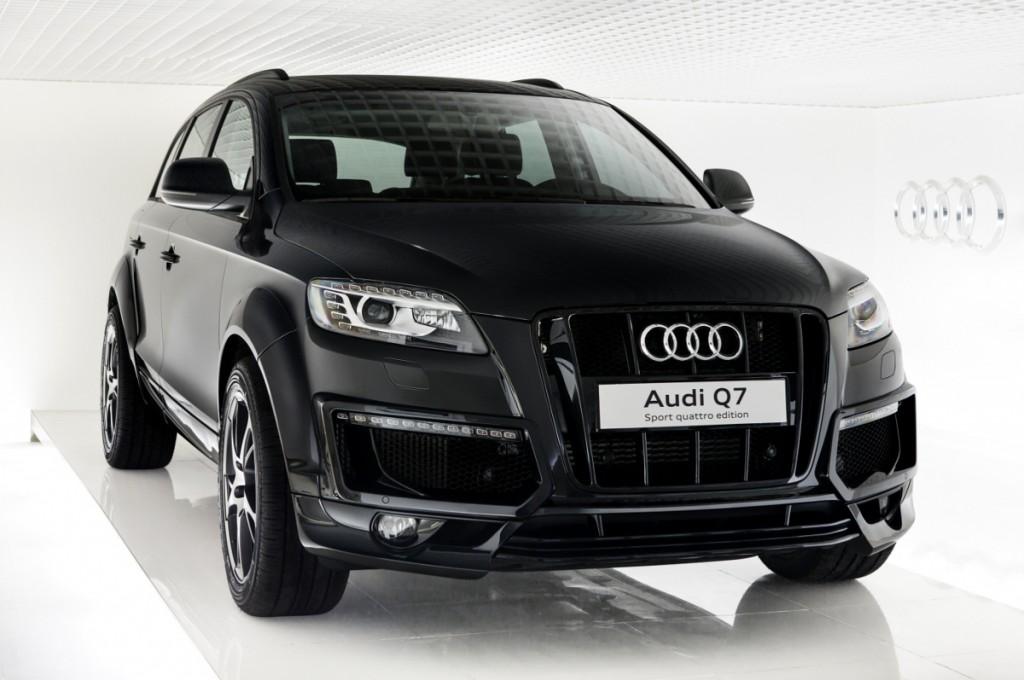 Audi Q7 2015 фото