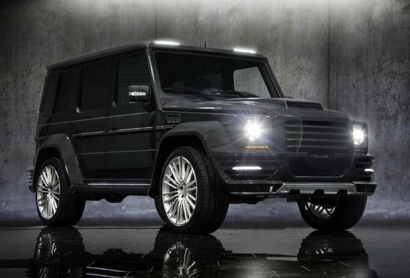Mercedes Gelandewagen фото