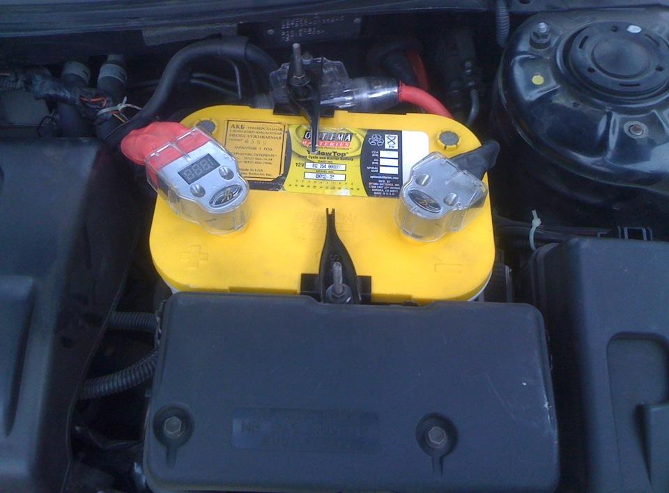 Гелевый аккумулятор для авто