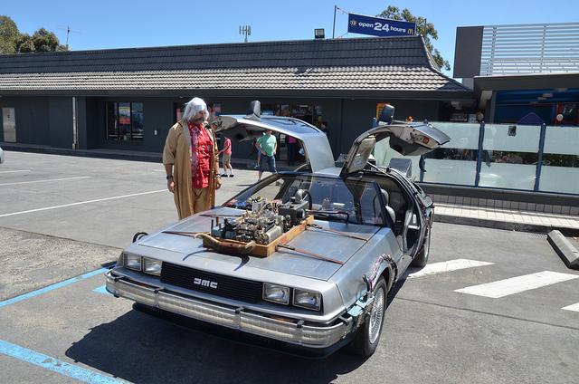 Косплей автомобиля из фильма
