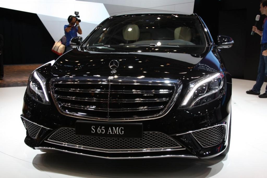 Mercedes S65 AMG фото, обзор