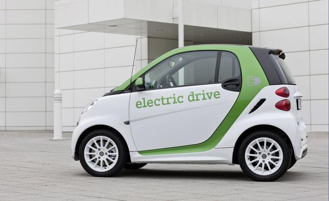 Smart Fortwo EV cabriolet