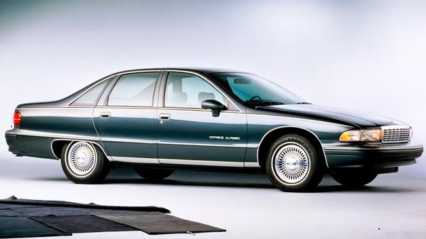 История создания Chevrolet Caprice 1991г.в