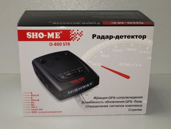 Радар-детектор sho-me g800 str отзывы