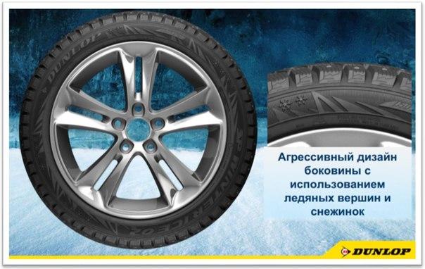 Зимние шины  Dunlop SP Winter ICE02 Характеристики, фото и цены