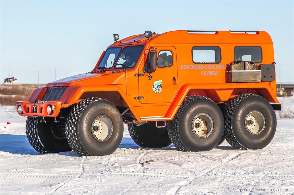 Внедорожное транспортное средство ТРЭКОЛ 39294