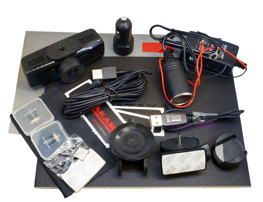 Комплектация видеорегистратора