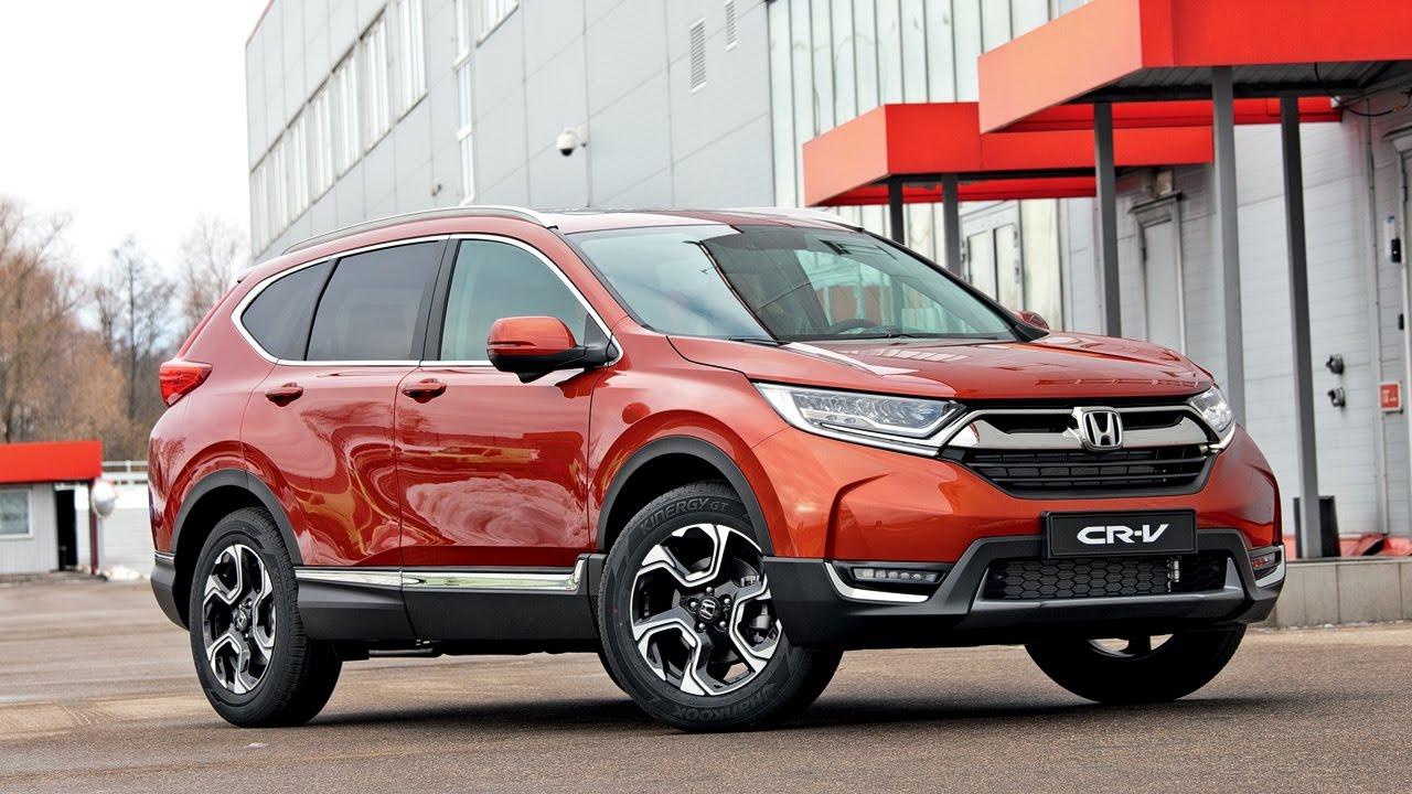 Новая Honda CR-V 2017 года принадлежит к компактным кроссоверам, но по своим габаритам приближается к серьезным внедорожникам.