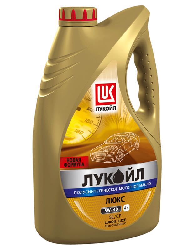 ЛУКОЙЛ Люкс полусинтетическое SL/CF 10W-40 4 л