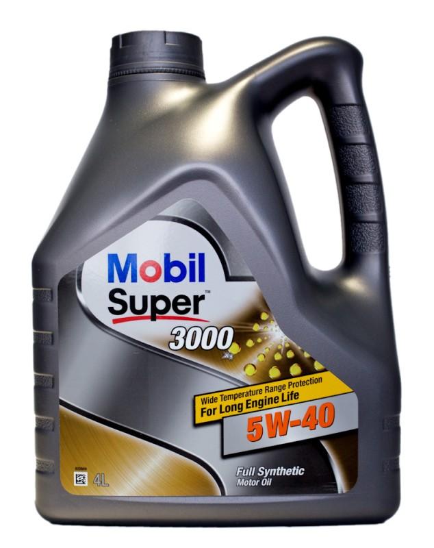 MOBIL Super 3000 X1 5W-40 4 л