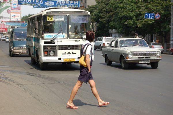За что будут штрафовать пешеходов?