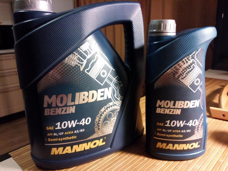Mannol Molibden Benzin 10W-40 4 л